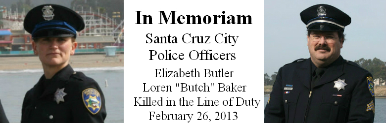 in memoriam - santa cruz police officers killed
